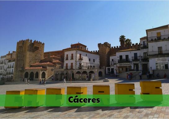 Residencias de estudiantes en Cáceres